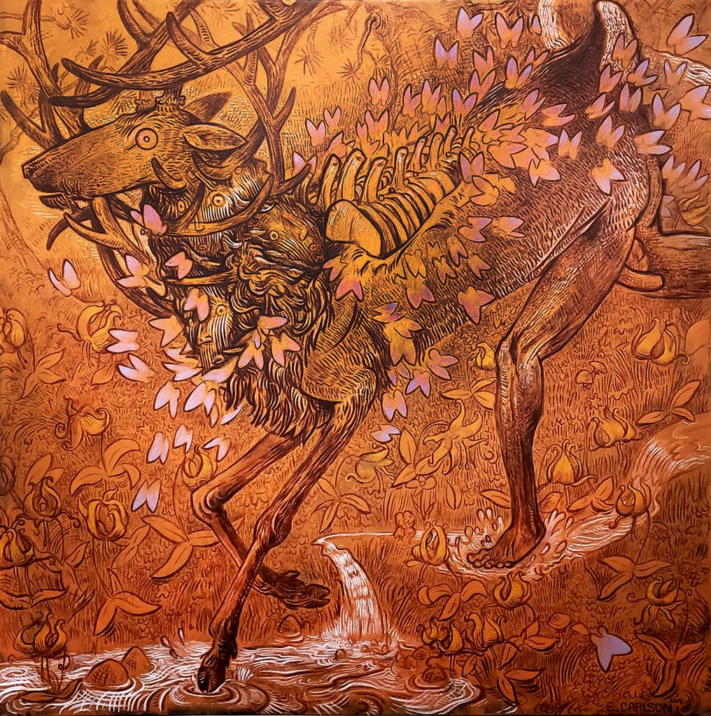 elk and butterflies eric carlson